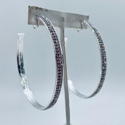 Earrings Hoop Silver