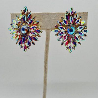 Chandelier AB Gold Earrings
