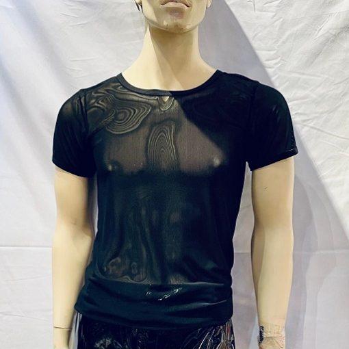 CHN-Mesh-Shirt-Black